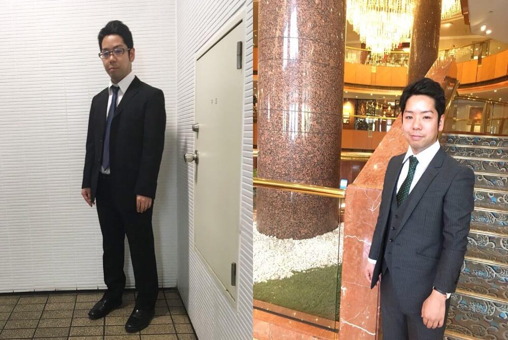 30代から未経験でエンジニアになった青木さん。スーツも新調しイメージチェンジを図ったことも奏功しました。