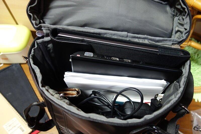 MB169B+を実際バッグに入れて持ち運びできるかどうか検証