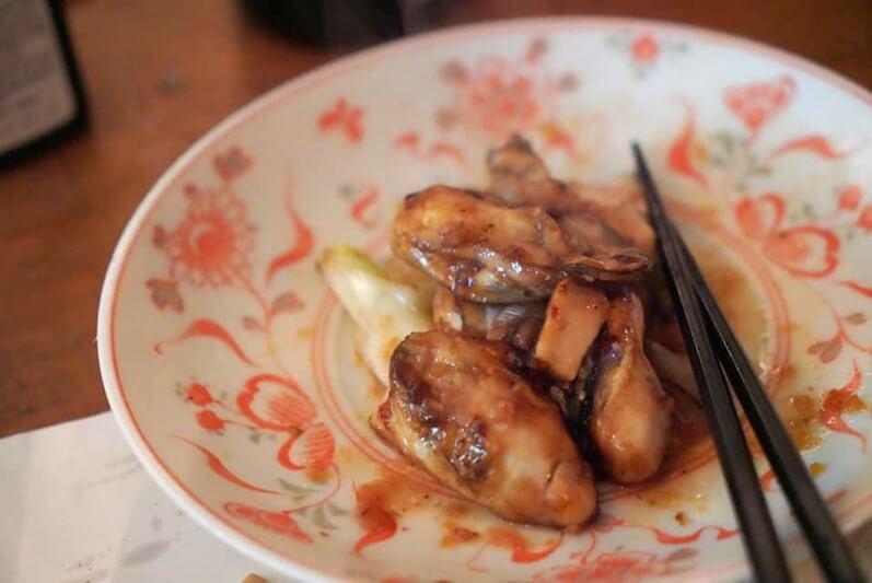 牡蠣バター醤油