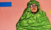 【着るだけでゴーヤ】きぐるみ・コスプレにも使えるバンドックの寝袋が熱い。