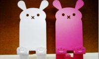 【猫・カエル・ウサギ・ゾウ】 かわいい iPhone & スマホ スタンドは、ミンネ(minne)に売ってるよ。